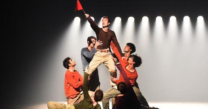 """Lo spettacolo """"Uprising"""". Foto: Regina Brocke"""