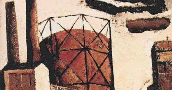 . Mario Sironi, «Gasometro», 1942