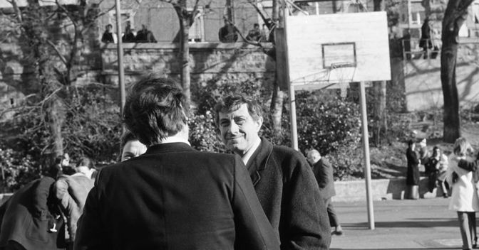 , Franco Basaglia in uno scatto di  Fabio Battellini, dall'Archivio del Dipartimento di Salute Mentale di Trieste
