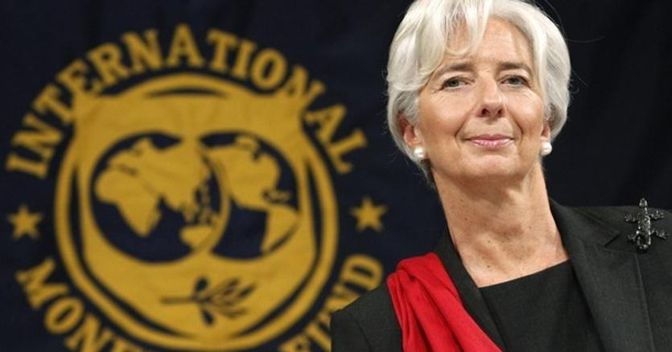 Interview with Christine Lagarde, managing director of the