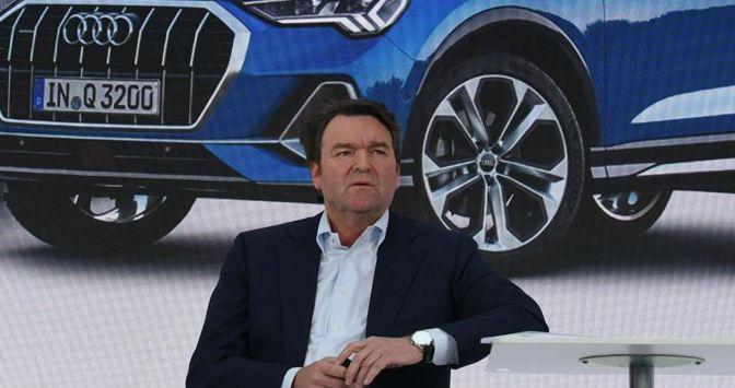 Bram Schot, ceo di Audi (Ap)
