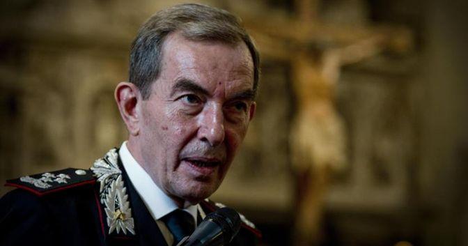Il comandante generale dell'Arma dei Carabinieri, generale Leonardo Gallitelli