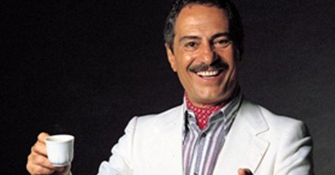 Nino Manfredi, storico  testimonial di Lavazza (Ansa)