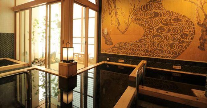 Mikoku-yu onsen a Tokyo (Ap)