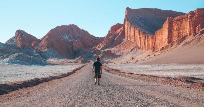 Atacama - Camminata in solitaria - Courtesy Awasi
