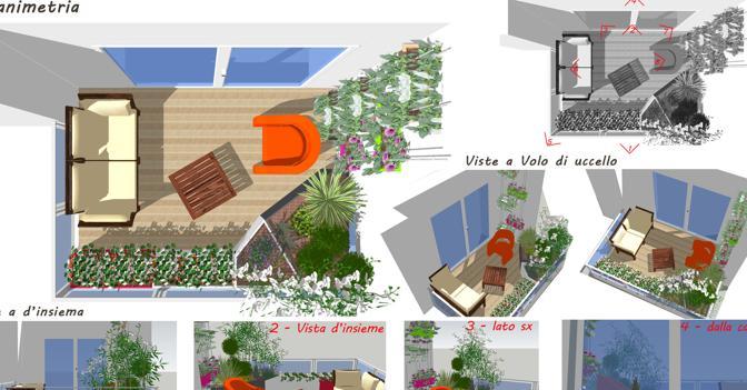 Un piccolo terrazzo «verde» che tuteli la privacy? Undici idee da ...
