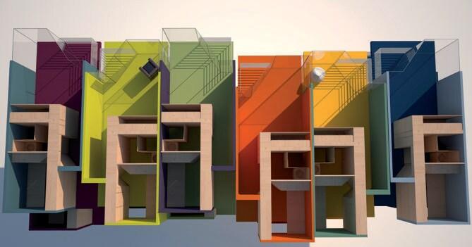 Da capannone in disuso a mini appartamenti low cost per for Costruire un capannone