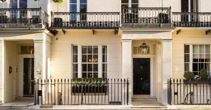 Londra in vendita la casa di margaret thatcher il sole for Piani di casa ranch d epoca