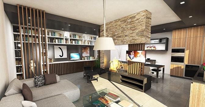 Progetti di design a confronto per valorizzare la zona for Zona living design