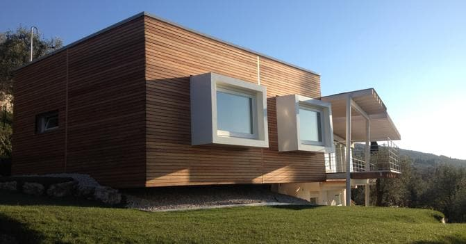Casa in legno efficiente e pronta in sei mesi il sole 24 ore for Case in stile ranch del texas