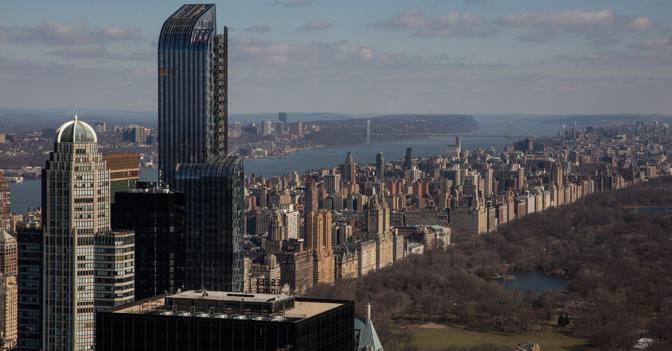 Nuovo record a new york mega appartamento in vendita a for Appartamento grattacielo new york