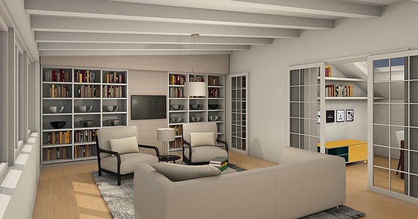Come valorizzare un attico a milano con soluzioni di design il sole 24 ore - Terrazzi di design ...