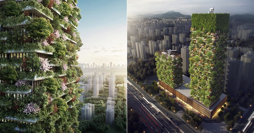 Project: Nanjing Vertical Forest (Stefano Boeri Architects)