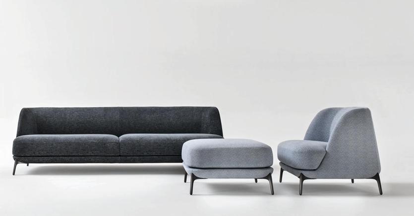 Divani e poltrone tornano all essenza dell accoglienza - Fusti divani e poltrone ...