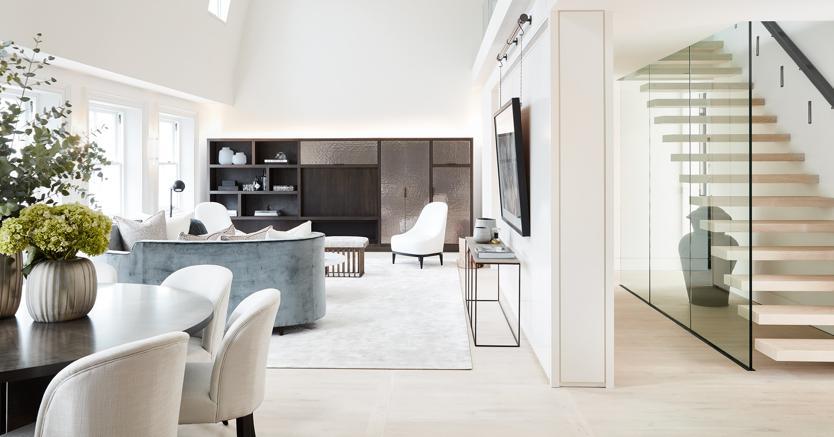 Hempel gardens 18 appartamenti super lusso nell ex hotel for Immagini di appartamenti ristrutturati