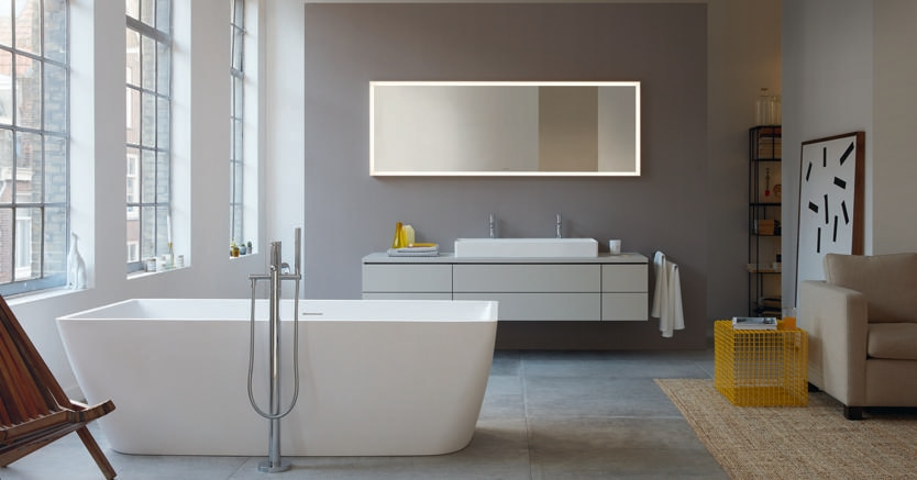 Sicurezza e comfort: il bagno di design è anche «smart» - Il Sole 24 ORE