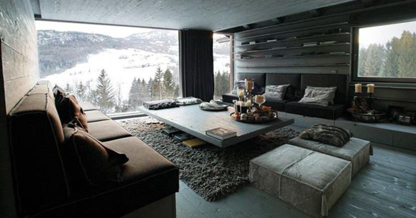 Come trasformare una baita di montagna in bilocali per for Trasformare casa
