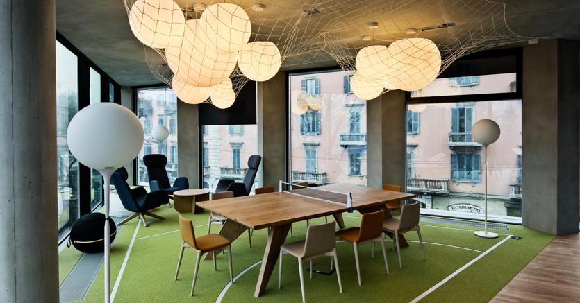 Ufficio Open Space Opinioni : Flessibilità e wellness per l ufficio all epoca dello smart