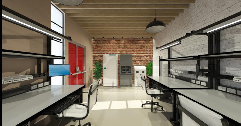 Come trasformare un magazzino in uno studio di design il for Trasformare casa