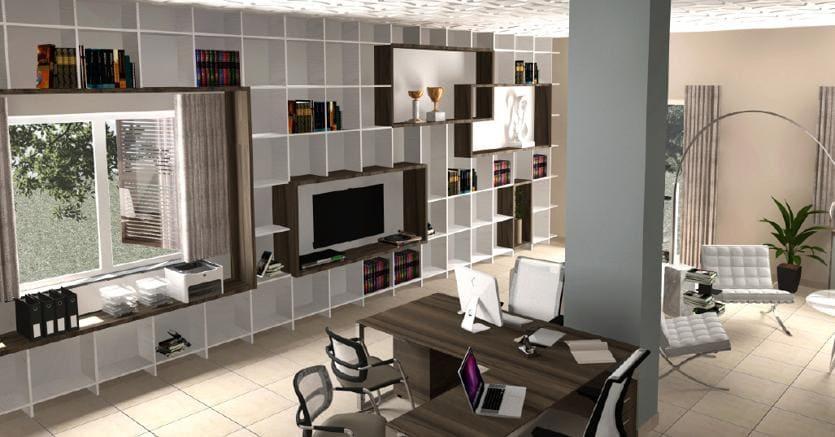 Come progettare un ufficio dentro casa il sole 24 ore for Design ufficio napoli