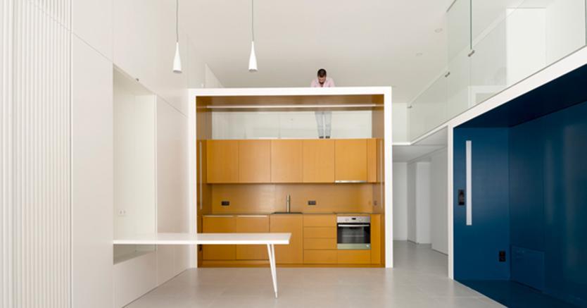 Cucina Soffitti Alti : Come sfruttare gli alti soffitti di palazzi antichi in chiave
