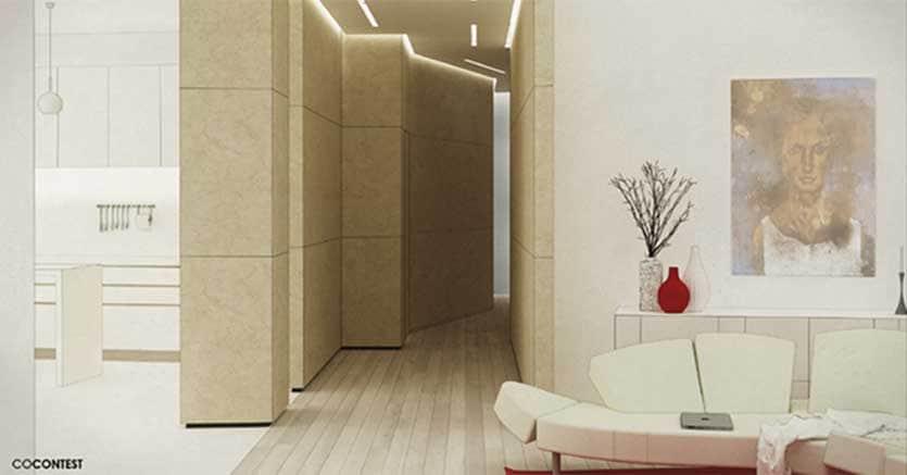 Illuminazione Di Un Corridoio : Come sfruttare in modo funzionale un corridoio degli anni il