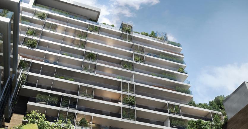Al via a milano le residenze realizzate da china for Via giardini milano