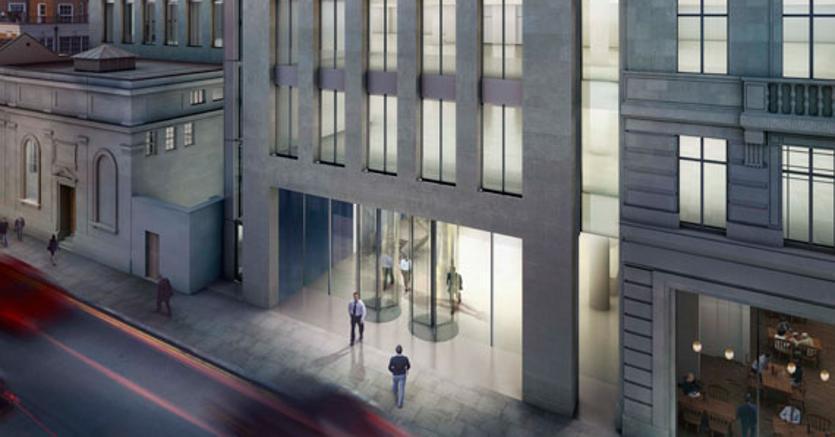 La sede di Savills a Londra