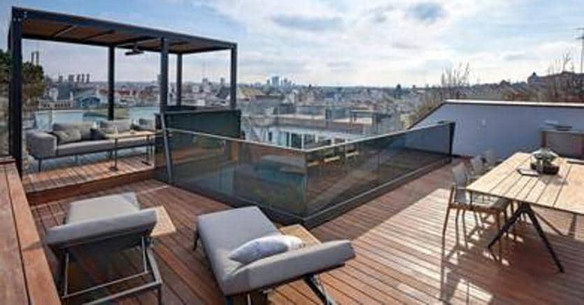 Ecco come creare una piccola spa sul terrazzo di casa il for Come costruire una piccola casa a buon mercato