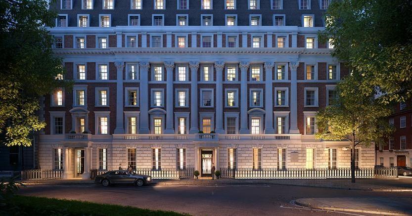 A londra nuove case di lusso a grosvenor square il sole for Nuove case coloniali in inghilterra