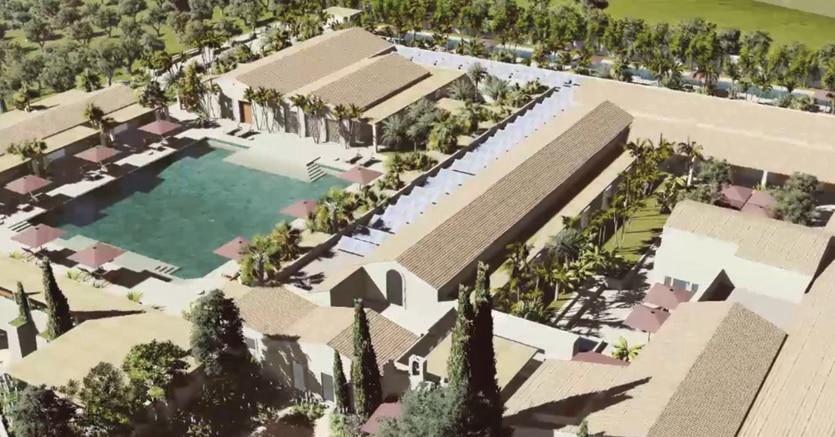 A Noto  la San Raffaele Srl di Genova costruirà  un resort 5 stelle (nel rendering il progetto firmato da Simone Paoletti e Corrado Papa)