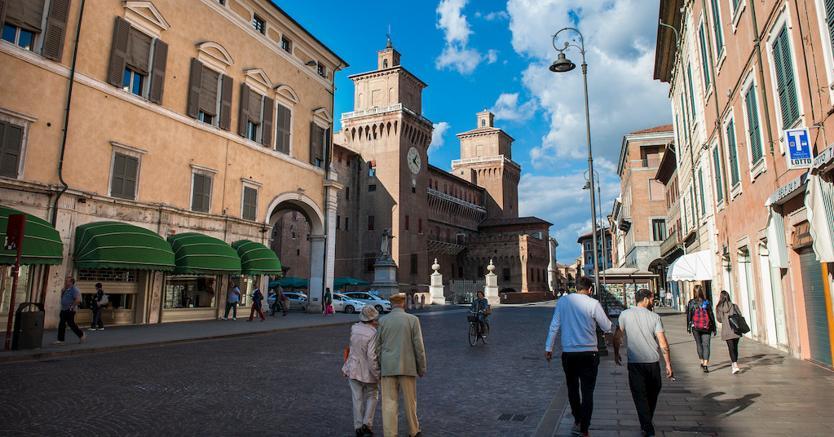 Il centro di Ferrara (Marka)