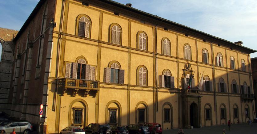 Siena, il palazzo sede della Provincia