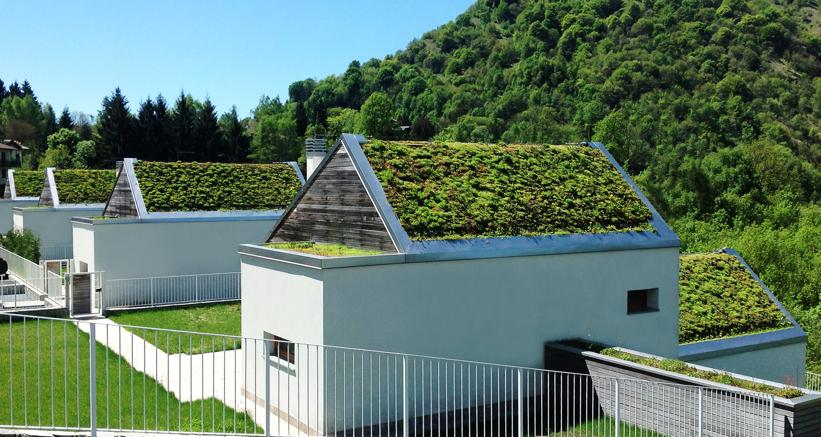 Con tetti verdi e giardini pensili casa più vivibile e risparmi ...