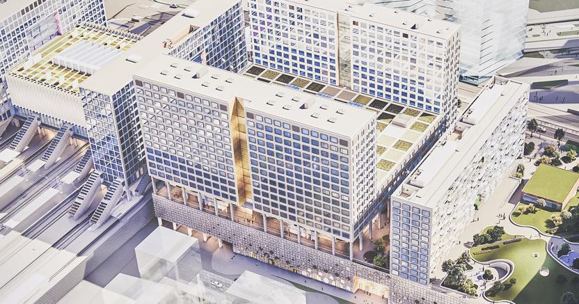 Come sarà il Tripla Mall di Helsinki, primo sviluppo di un quartiere in via di riqualificazione composto da edifici NZEB
