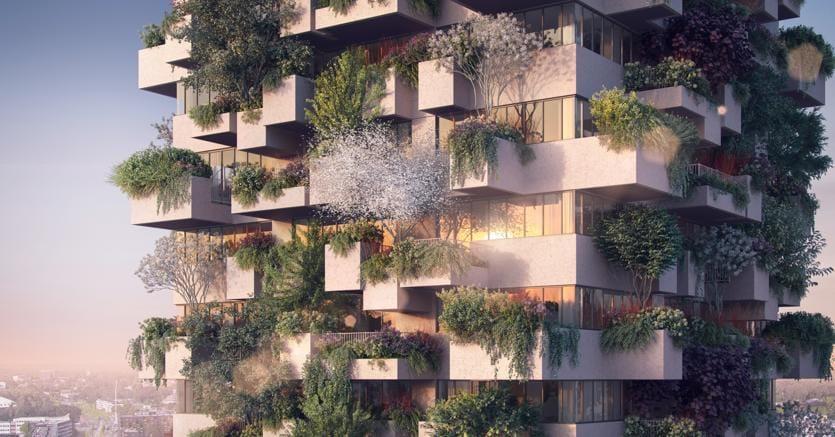 In Olanda Il Bosco Verticale Per Il Social Housing Il Sole 24 Ore