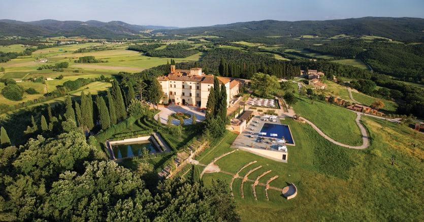 Castello di Casole appena acquistato per una cifra pari a 40 milioni di euro dal gruppo Belmond