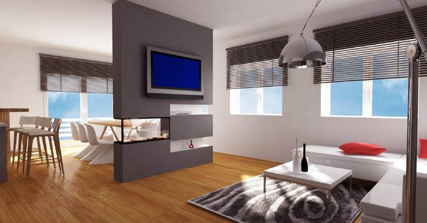 Cucina e area living come sfruttare al meglio gli spazi il sole 24 ore - Comporre cucina mondo convenienza ...