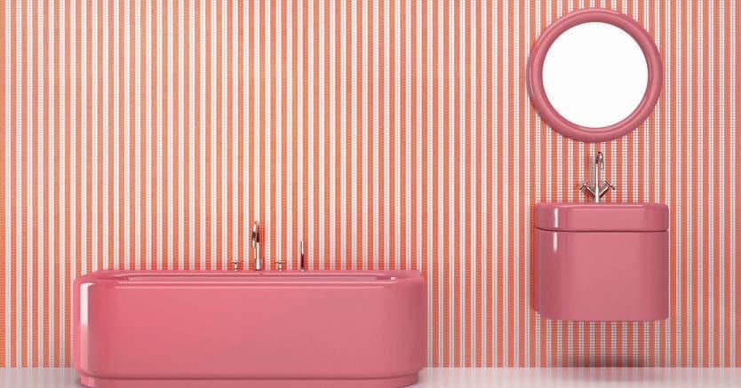 Il bagno riscopre i colori e sperimenta nuovi materiali il sole 24 ore - Fiera del bagno ...