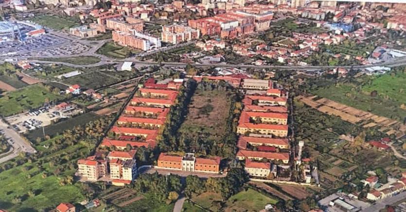 Caserma Lupi di Toscana.Per questa area di oltre 50mila mq serve  un investimento di 100 milioni