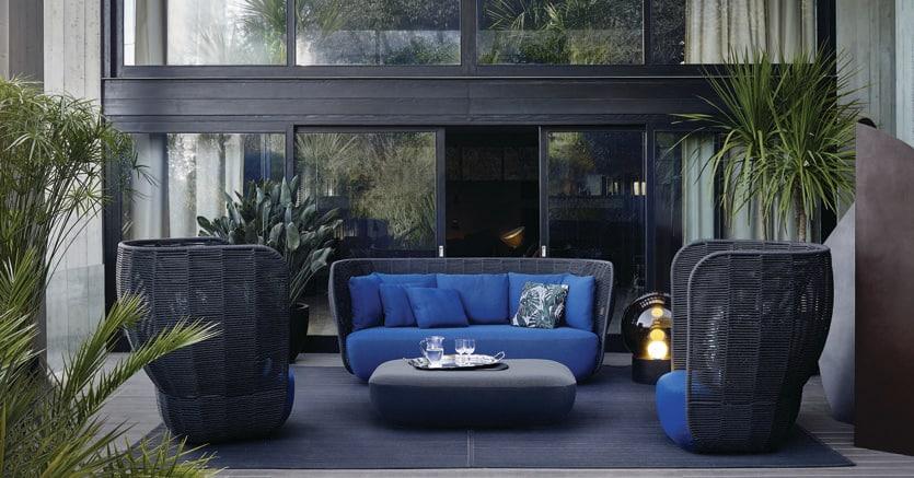 Outdoor, più «privacy» nell\'arredo di design per giardini e terrazze ...