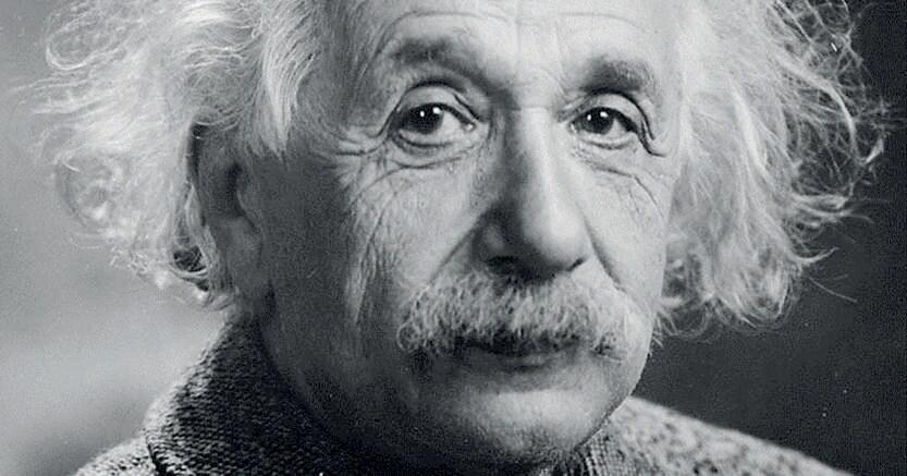 A princeton. Albert Einstein nel 1947