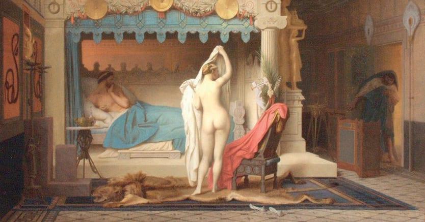 Il sogno di essere invisibili. La favola dell'anello di Gige, raccontata nella «Repubblica» di Platone, in un dipinto diJean-Léon Gérôme, 1858