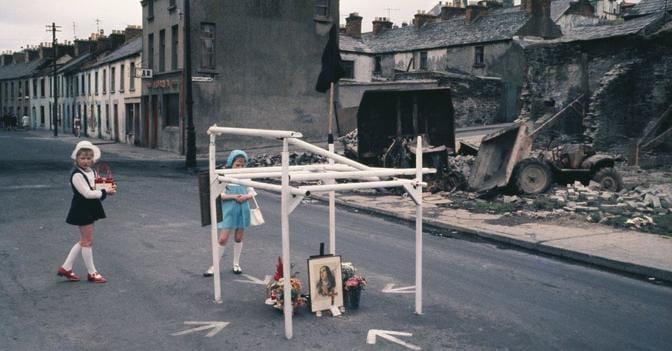 Akihiko Okamura -  primo viaggio in Irlanda del Nord nel 1968