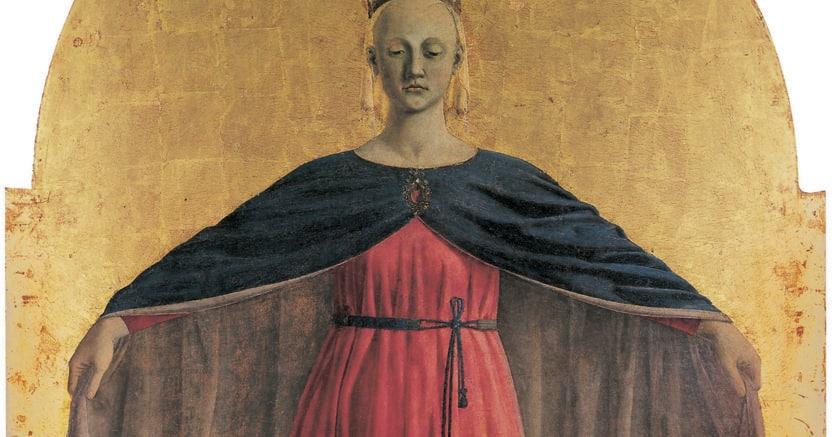 Piero della Francesca, «Madonna della Misericordia», Sansepolcro, Museo Civico
