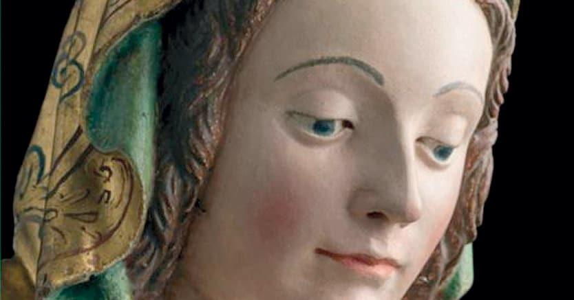 Dulcedo. Pietro Bussolo, «Madonna con Bambino»,(particolare), 1510-1515