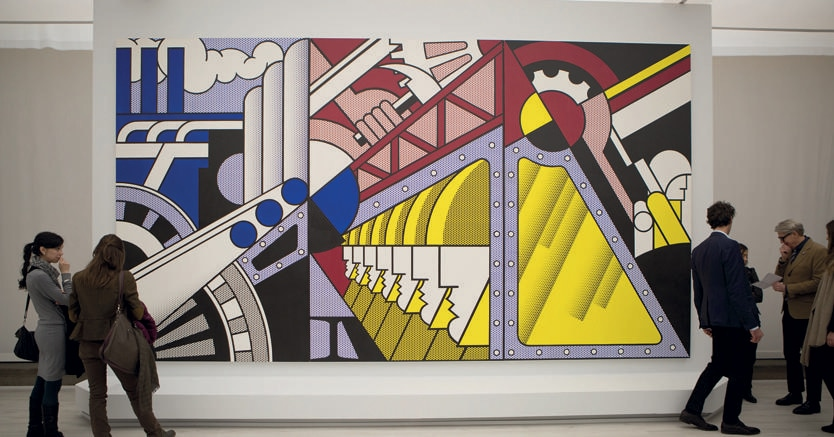Visitatori. Eccezionale afflusso di pubblico alla mostra di Palazzo Strozzi di Firenze dedicata alle collezioni di Salomon e Peggy Guggenheim