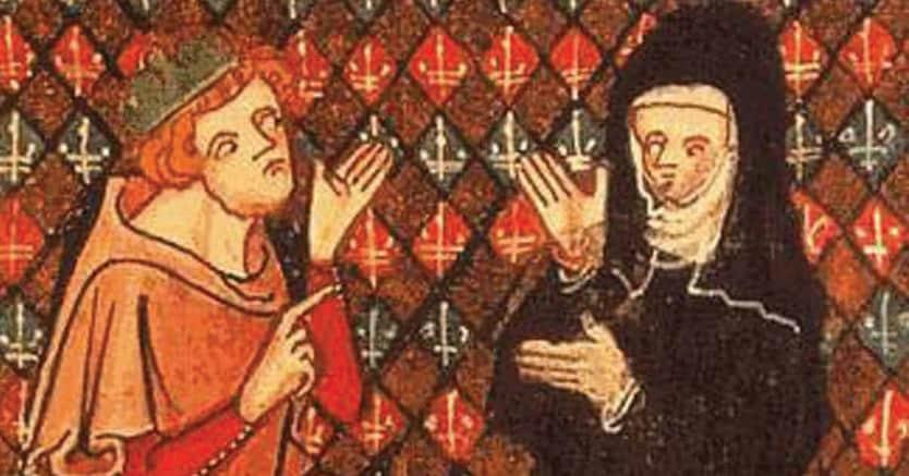 Protagonisti. Abelardo ed Eloisa in una miniatura del Roman de la Rose, XIII secolo