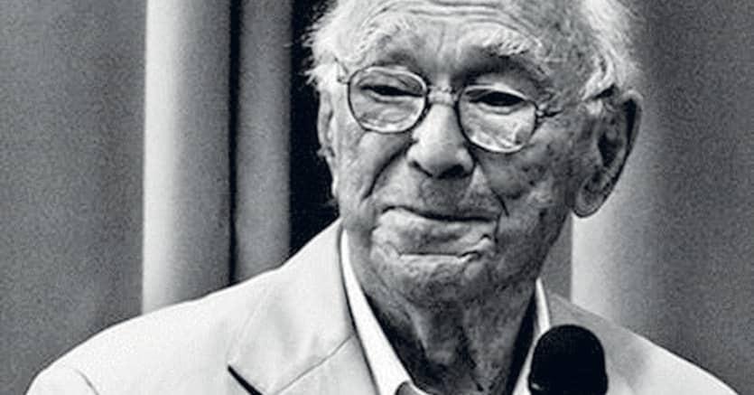 Centenario.Jerome Bruner, americano, figlio di immigrati polacchi, nacque cieco e acquistò la vista da bambno