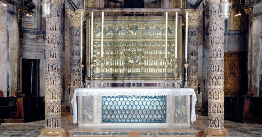 Tesori. Il ciborio della basilica di San Marco a Venezia, secolo XIII